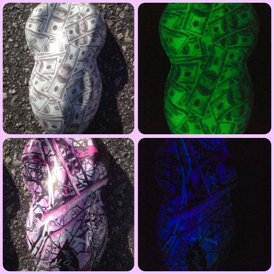 Photo Gallery For Toxic Toad Glow In The Dark Paint Jobs