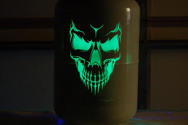 Rattle Can Paint Job >> Photo Gallery for Toxic Toad Glow in the dark paint jobs